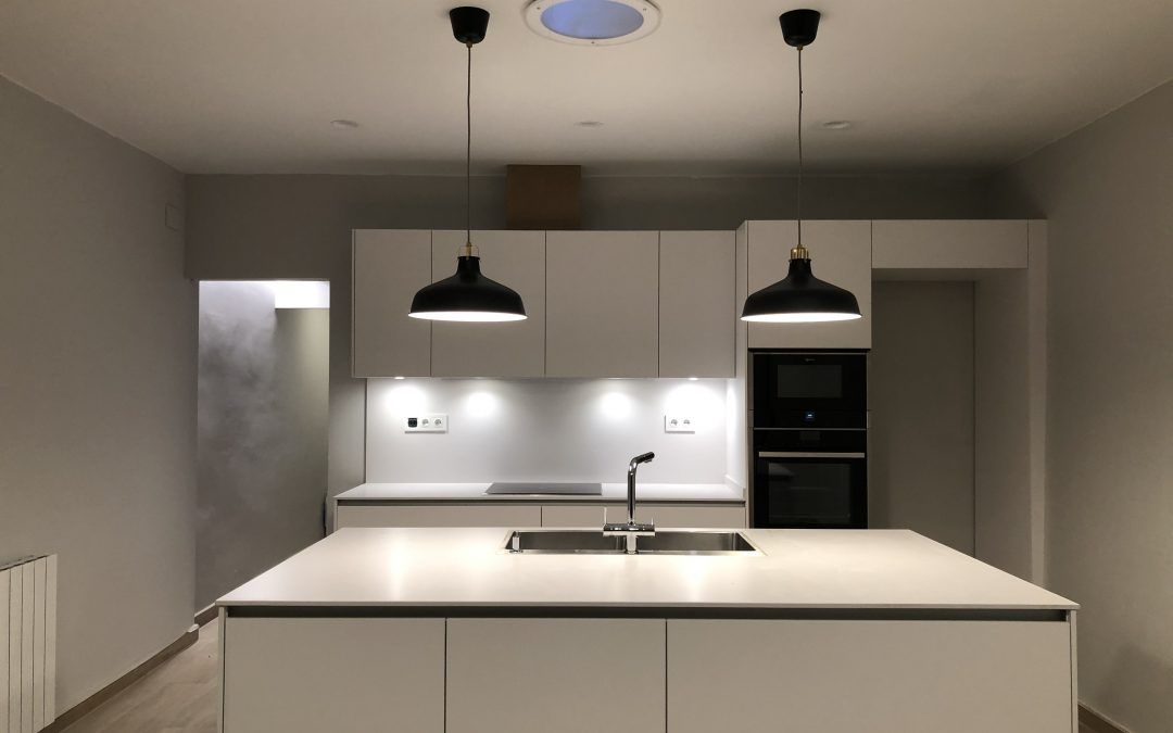Proyecto Silestone White Storm en Ullastrell